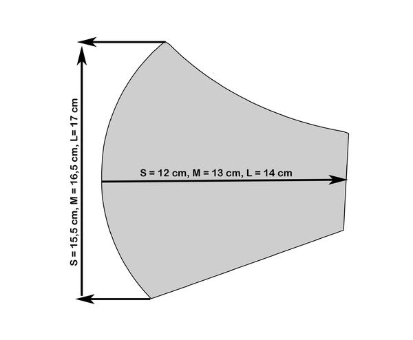 Rúško S Aloe Vera - súhvezdí, L - 3