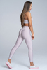 Gym Glamour Legíny High Waist Broken White, L - 3/4