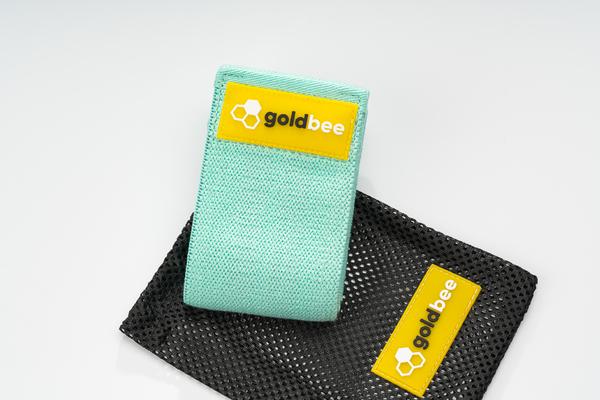 GoldBee Textilná Odporová Guma - Tyrkysová, M - 3