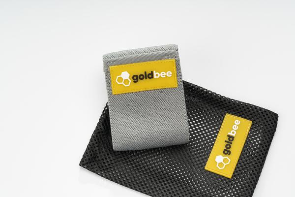 GoldBee Textilná Odporová Guma - Tmavo Sivá, S - 3