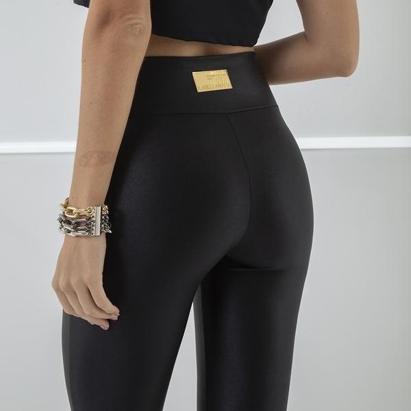 Labella Kalhoty Leather Black - 3