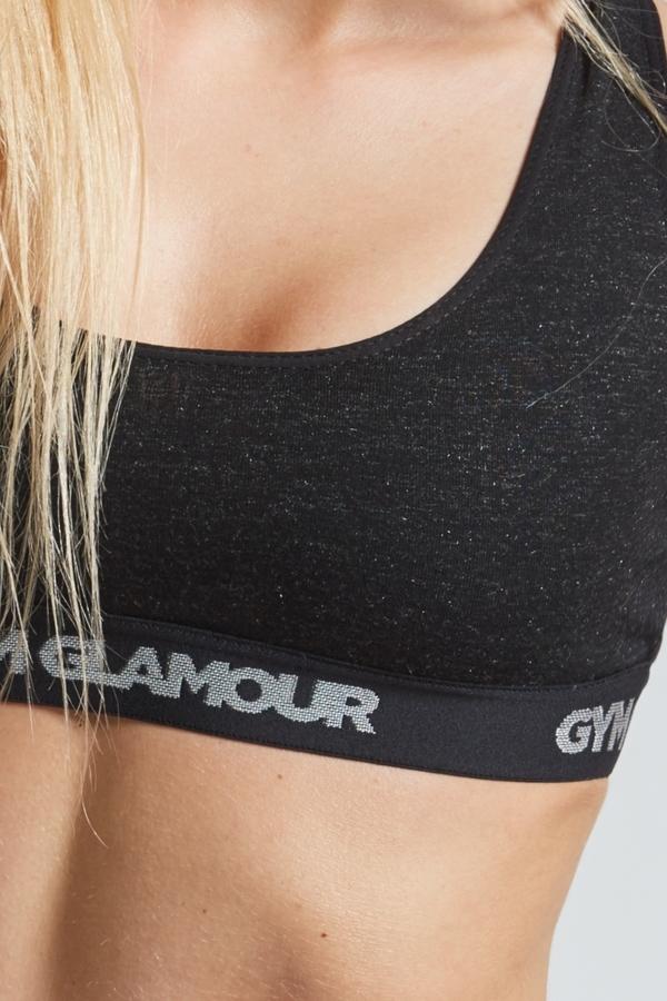 Set Spodné Prádlo Gym Glamour Black, XS - 4