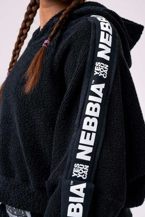 Nebbia Mikina 520 Rebel Hero - Černá - 4
