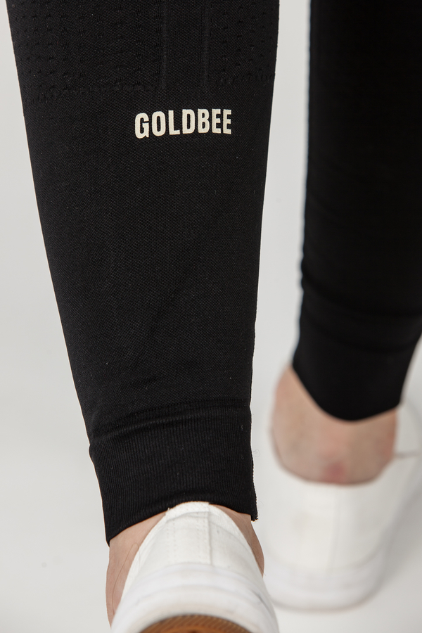 GoldBee BeTop Logo GOLD EDITION Black, XS - 4