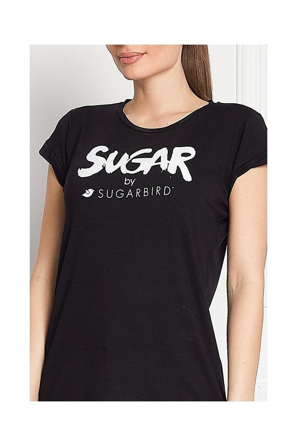 Sugarbird Tričko Light Us Sugar Black, L - 4