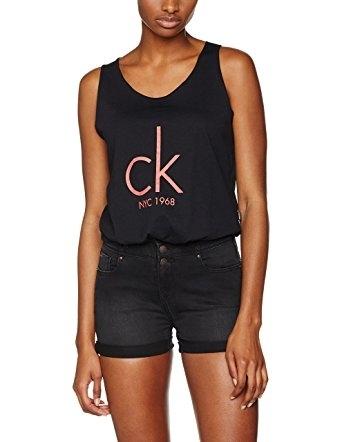 Calvin Klein Tielko Knotted Čierne - 4