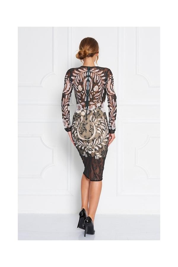 Sugarbird Tess Lace Dress, S - 4