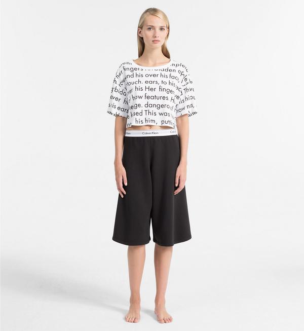 Calvin Klein Crop Top Tričko Women In Love, L - 4