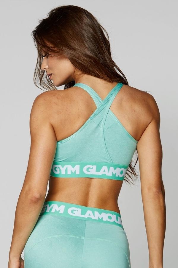 Gym Glamour Podprsenka Pistachio Basic, S - 4