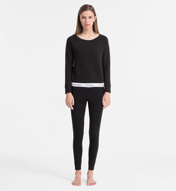 Calvin Klein Mikina Čierna, XL - 4