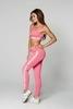 Gym Glamour Legíny High Waist Pink, S - 4/5