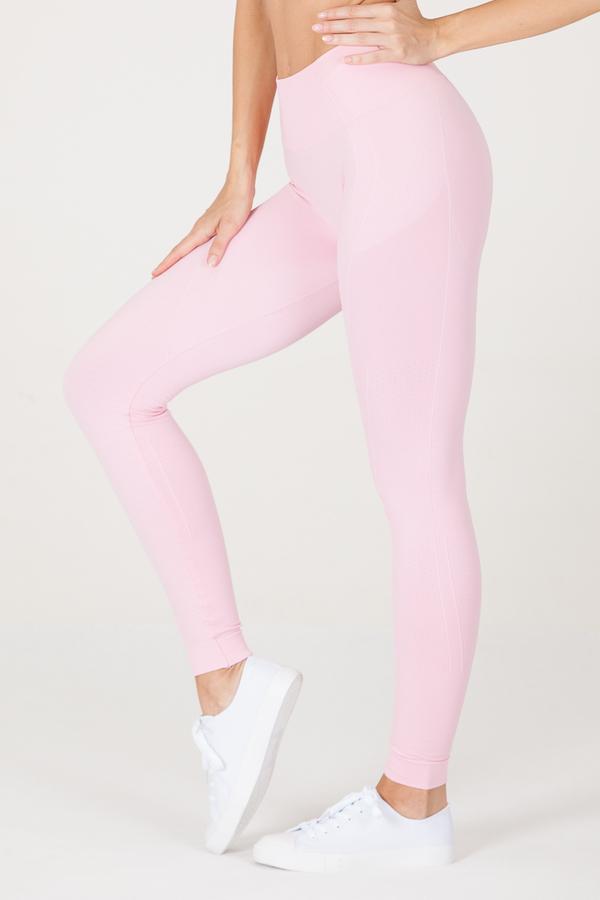GoldBee Legíny BeSeamless Candy Pink, XS - 4