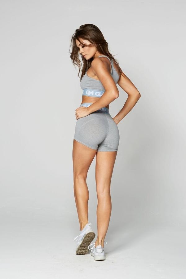 Gym Glamour Kraťásky Grey, XS - 4
