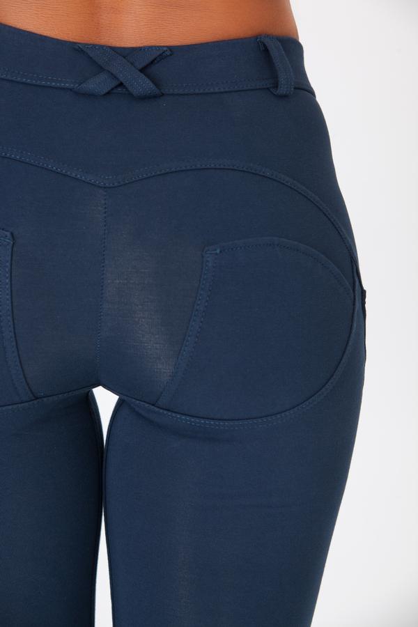 Boost Pants Mid Waist Dark Blue, XS - 4