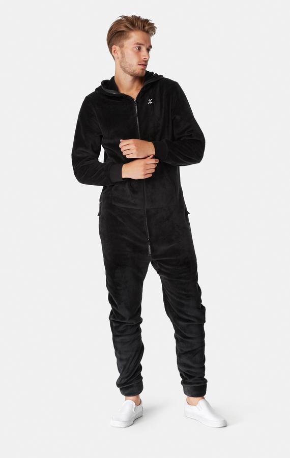 OnePiece Puppy Hug Fleece Black - 5