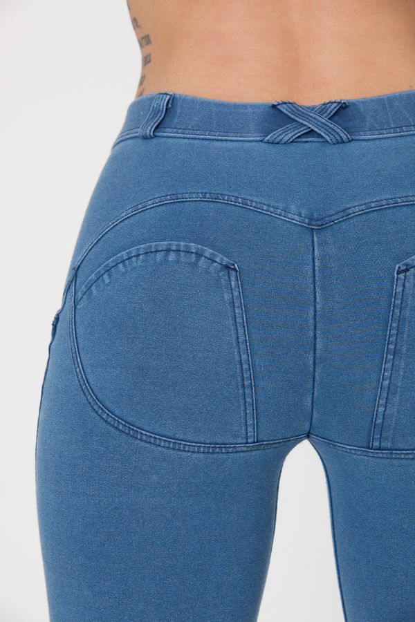Boost Jeans Mid Waist Light Blue Predobjednávka, L - 5
