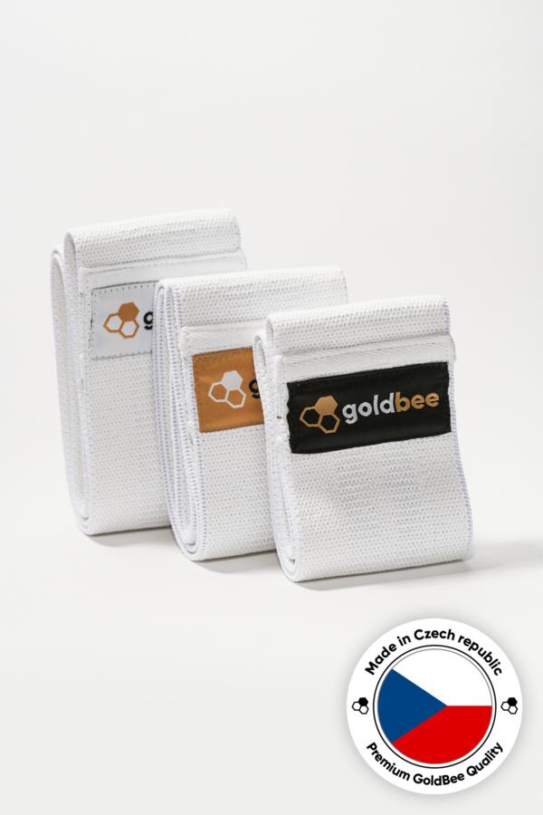 GoldBee BeBooty White CZ, S - 5