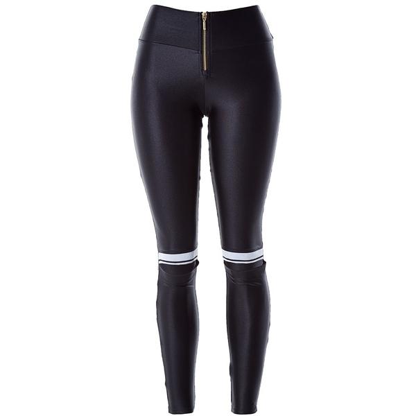 Labella Kalhoty Leather Black - 5