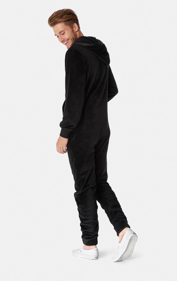 OnePiece Puppy Hug Fleece Black - 6