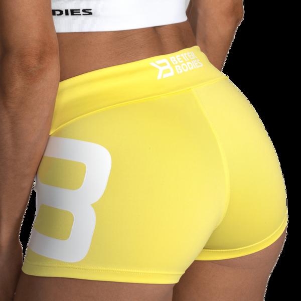 Better Bodies Kraťasky Gracie Lemon Yellow, S - 6