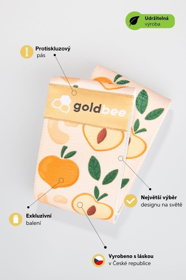 GoldBee BeBooty Peach - 6