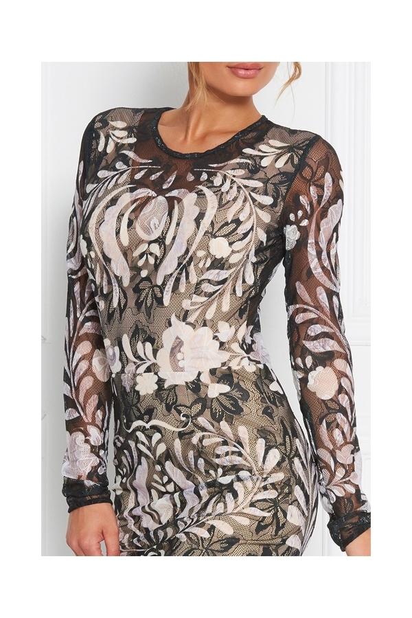 Sugarbird Tess Lace Dress, S - 6