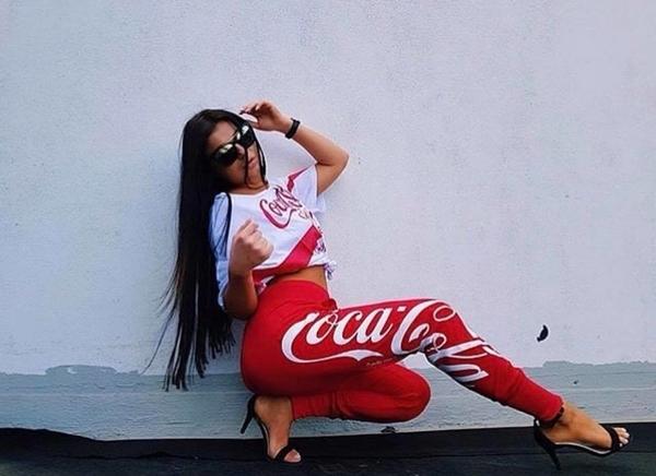 Sugarbird Tepláky Walida Coca Cola, L - 6