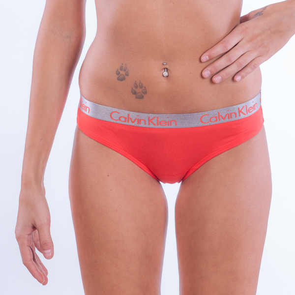 Calvin Klein 3Pack Nohavičky Red, White And Lila, XS - 6