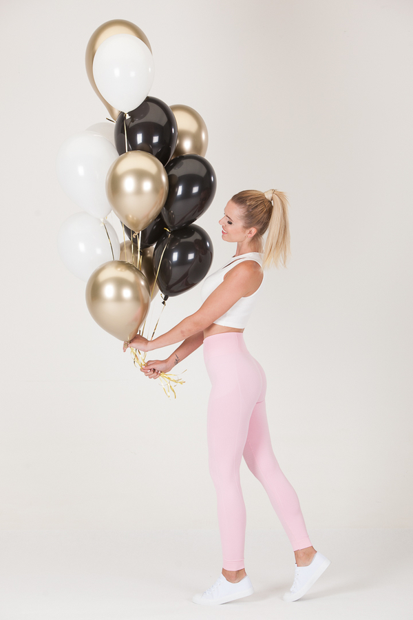 GoldBee Legíny BeSeamless Candy Pink, M - 6