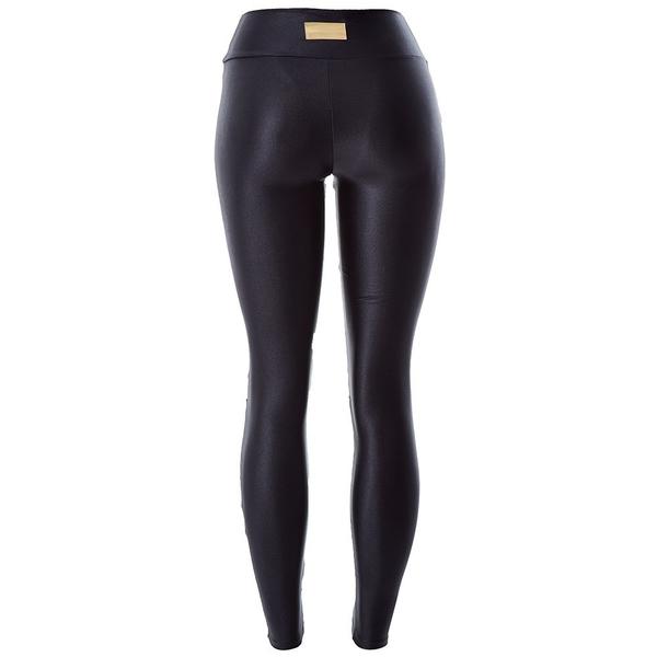 Labella Kalhoty Leather Black - 6