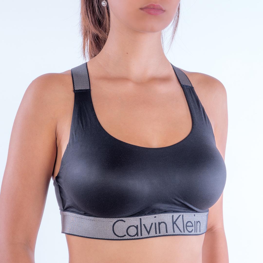 0bed5ec9e Calvin Klein Podprsenka Bralette Lightly Lined - 1